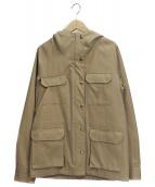 Traditional Weatherwear(トラディショナル ウェザーウェア)の古着「マウンテンパーカー」 ベージュ
