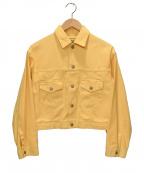 WESTOVERALLS(ウエストオーバーオールズ)の古着「デニムジャケット」|イエロー