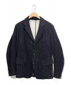 The Stylist Japan(ザスタイリストジャパン)の古着「ストライプジャケット」 ブルー