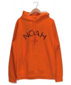 Noah(ノア)の古着「ロゴプルオーバーパーカー」|オレンジ