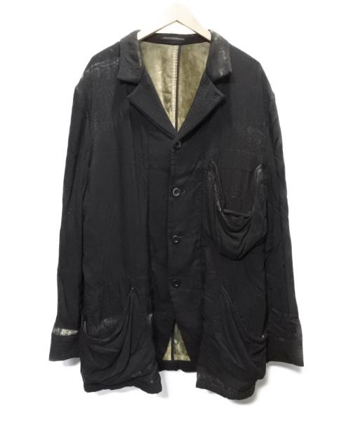 Ys(ワイズ)Ys (ワイズ) 裏ベルベットジャケット ブラック サイズ:SIZE 3の古着・服飾アイテム