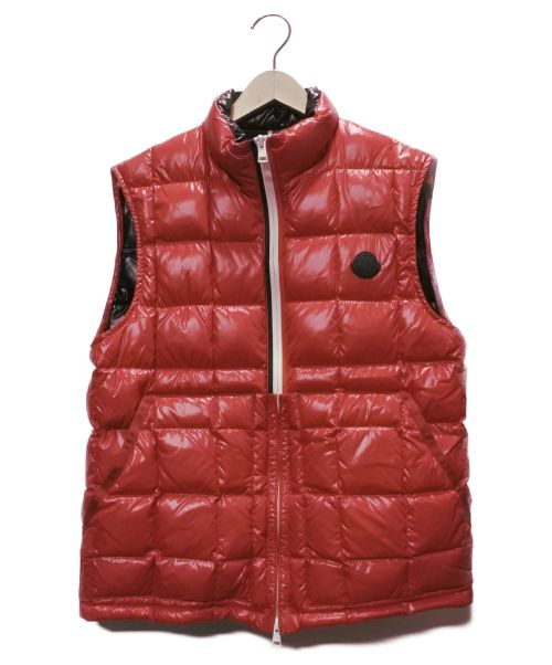 MONCLER(モンクレール)MONCLER (モンクレール) ダウンベスト レッド サイズ:SIZE 2 DENAIN GILET C0021 DISTの古着・服飾アイテム