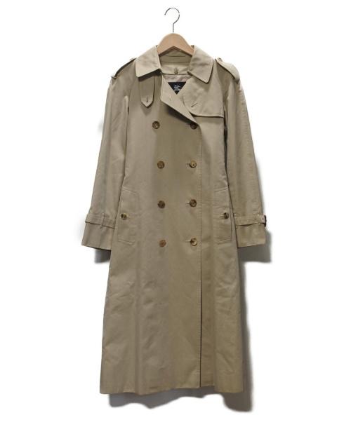 BURBERRY LONDON(バーバリーロンドン)BURBERRY LONDON (バーバリーロンドン) ノバチェックライナートレンチコート ベージュ サイズ:SIZE 7の古着・服飾アイテム