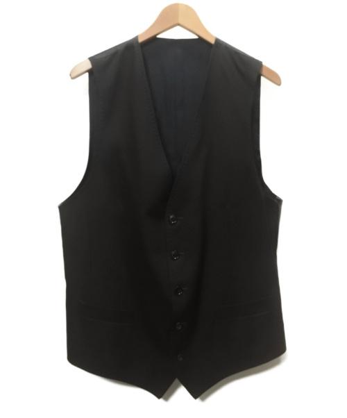 DOLCE & GABBANA(ドルチェアンドガッバーナ)DOLCE & GABBANA (ドルチェアンドガッバーナ) DG柄ジレ/ベスト ブラック サイズ:SIZE 50の古着・服飾アイテム