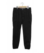 HYDROGEN(ハイドロゲン)の古着「ジョガーパンツ」|ブラック