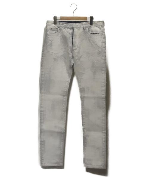 Maison Margiela(メゾンマルジェラ)Maison Margiela (メゾンマルジェラ) ペンキ加工デニムパンツ ホワイト サイズ:81cm(W32) 未使用品の古着・服飾アイテム
