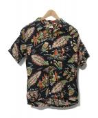 Sun Surf(サンサーフ)の古着「アロハシャツ」|レッド×ブラック