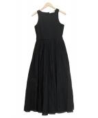 MARIHA(マリハ)の古着「夏のレディのドレス」 ブラック