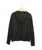 SPECCHIO(スペッチオ)の古着「プリーツジャケット」|ブラック