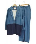 JUN OKAMOTO(ジュンオカモト)の古着「セットアップ」 ブルー