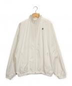 adidas×HYKE(アディダス×ハイク)の古着「ナイロンジャケット」|ホワイト