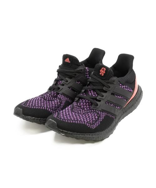 adidas(アディダス)adidas (アディダス) スニーカー ブラック×パープル サイズ:SIZE 27.5cm UltraBOOST /ウルトラブーストの古着・服飾アイテム