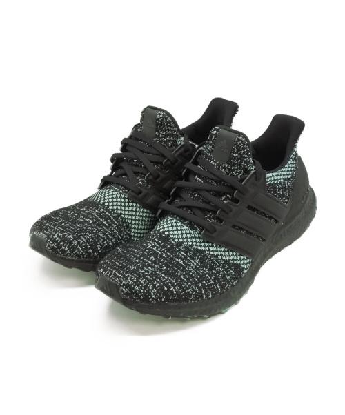 """adidas(アディダス)adidas (アディダス) ウルトラブースト ブラック×グリーン サイズ:SIZE 27.5cm ULTRA BOOST 4.0 """"Core Black/True Green""""の古着・服飾アイテム"""