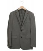 BURBERRY BLACK LABEL(バーバリーブラックレーベル)の古着「テーラードジャケット」|グレー