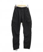 GRAMICCI×BEAMS(グラミチ×ビームス)の古着「ナイロン 6ポケット カーゴ パンツ」 ブラック