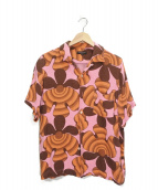 COMME des GARCONS HommePlus(コムデギャルソンオムプリュス)の古着「S/S総柄シャツ」 ピンク