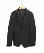COMME des GARCONS HommePlus(コムデギャルソンオムプリュス)の古着「レイヤードジャケット」|ブラック