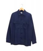 GAIJIN MADE(ガイジンメイド)の古着「インディゴ染めジャケット」|インディゴ