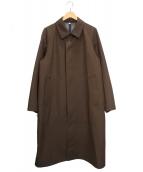 UNIQLO U(ユニクロ ユー)の古着「ブロックテックオーバーサイズコート」|ブラウン