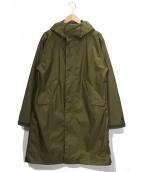 MARMOT(マーモット)の古着「シャワーモッズコート」|グリーン