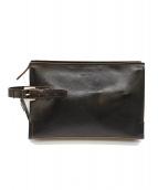 TAKEO KIKUCHI(タケオキクチ)の古着「セカンドバッグ」|ブラック