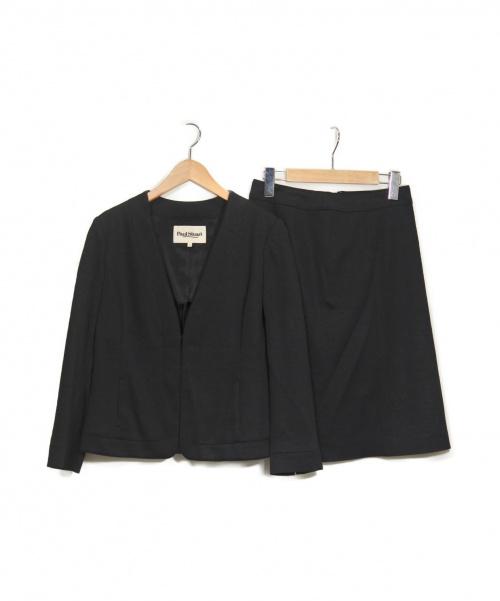 Paul Stuart(ポールスチュアート)Paul Stuart (ポールスチュアート) セットアップスーツ ブラック サイズ:6の古着・服飾アイテム