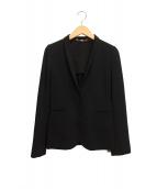 GUCCI(グッチ)の古着「2Bテーラードジャケット」|ブラック