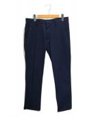 lideal(リデアル)の古着「シアサッカートラウザーパンツ」|ブルー