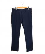 lideal(リディアル)の古着「シアサッカートラウザーパンツ」|ブルー