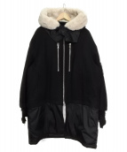 DIESEL BLACK GOLD(ディーゼルブラックゴールド)の古着「中綿コート」|ブラック