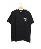 stussy(ステューシ)の古着「Tシャツ」|ブラック