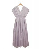 MARIHA(マリハ)の古着「夏の光のドレス」 パープル