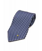 BVLGARI(ブルガリ)の古着「ネクタイ」 ブルー