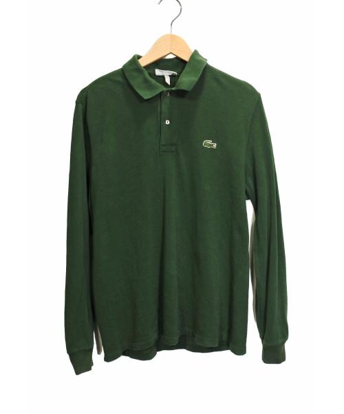 LACOSTE(ラコステ)LACOSTE (ラコステ) 【OLD】70'S前期ロングスリーブポロシャツ グリーン サイズ:4の古着・服飾アイテム