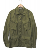 US ARMY(米軍)の古着「【古着】ジャングルファティーグジャケット」|オリーブ