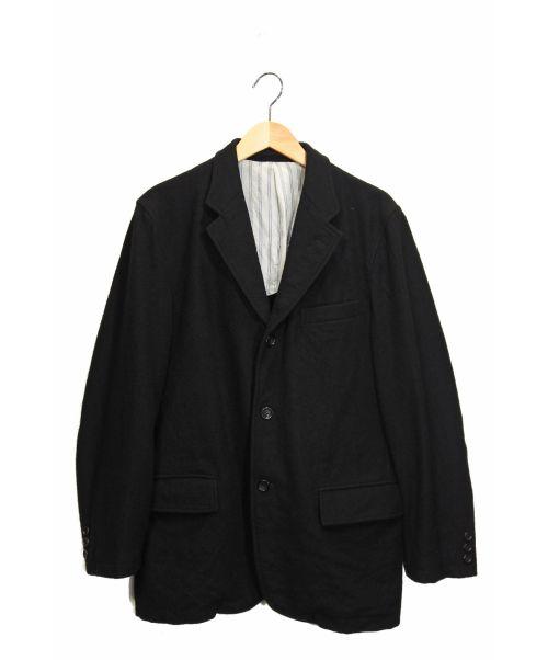 COMME des GARCONS HOMME(コムデギャルソン オム)COMME des GARCONS HOMME (コムデギャルソン オム) ウールジャケット ブラック サイズ:Sの古着・服飾アイテム