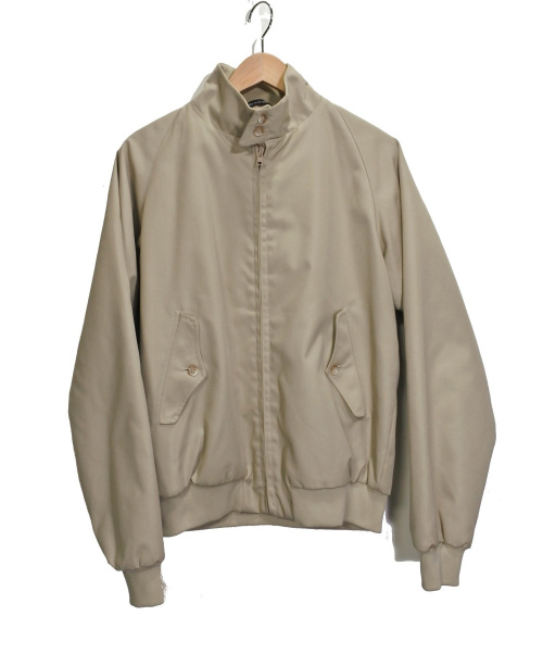 BARACUTA(バラクータ)BARACUTA (バラクータ) キルティングハリントンジャケト ベージュ サイズ:38の古着・服飾アイテム