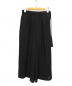 OPENING CEREMONY(オープニングセレモニー)の古着「ベルトワイドパンツ」|ブラック