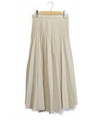 UNITED TOKYO(ユナイテッドトウキョウ)の古着「コルセットプリーツスカート」|ベージュ