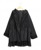 SPECCHIO(スペッチオ)の古着「フーデッドジャケット」|ブラック