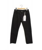 MM6(エムエムシックス)の古着「パンツ」|ブラック