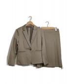 23区(ニジュウサンク)の古着「スーピマシャンブレーセットアップスーツ」|ブラウン