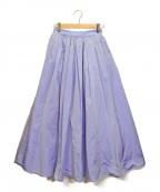 TOMORROWLAND(トゥモローランド)の古着「別注ナイロンスカート」|ブルー