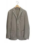L.B.M.1911(エルビーエム1911)の古着「エルボーパッチジャケット」 グレー