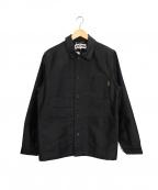 GOOD DESIGN SHOP COMME des GAR(コムデギャルソン)の古着「CDG LOGO work jacket」 ブラック