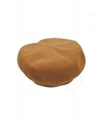 CA4LA(カシラ)の古着「ベレー帽」|ブラウン