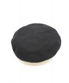 CA4LA(カシラ)の古着「ベレー帽」|ブラック