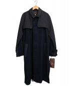 ROSIER(ロジエ)の古着「コート」|ネイビー
