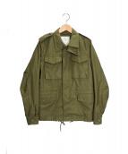 HYKE(ハイク)の古着「フィールドジャケット」|オリーブ