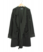 LANVIN COLLECTION(ランバンラコレクション)の古着「デザインジャケット」|グリーン